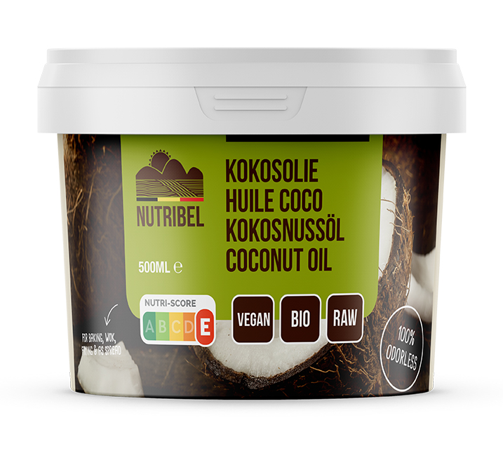 Kokosolie geurloos bio 500ml