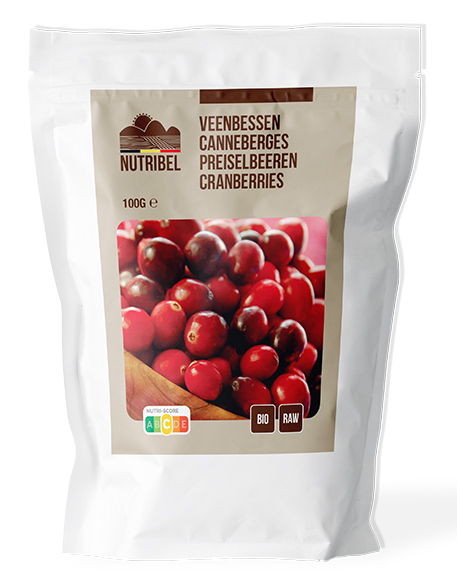 Cranberries bio & raw 100g